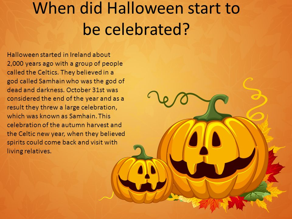 Amanda Multimedia Design 3 rd Block 10/26/12. How did Halloween ...