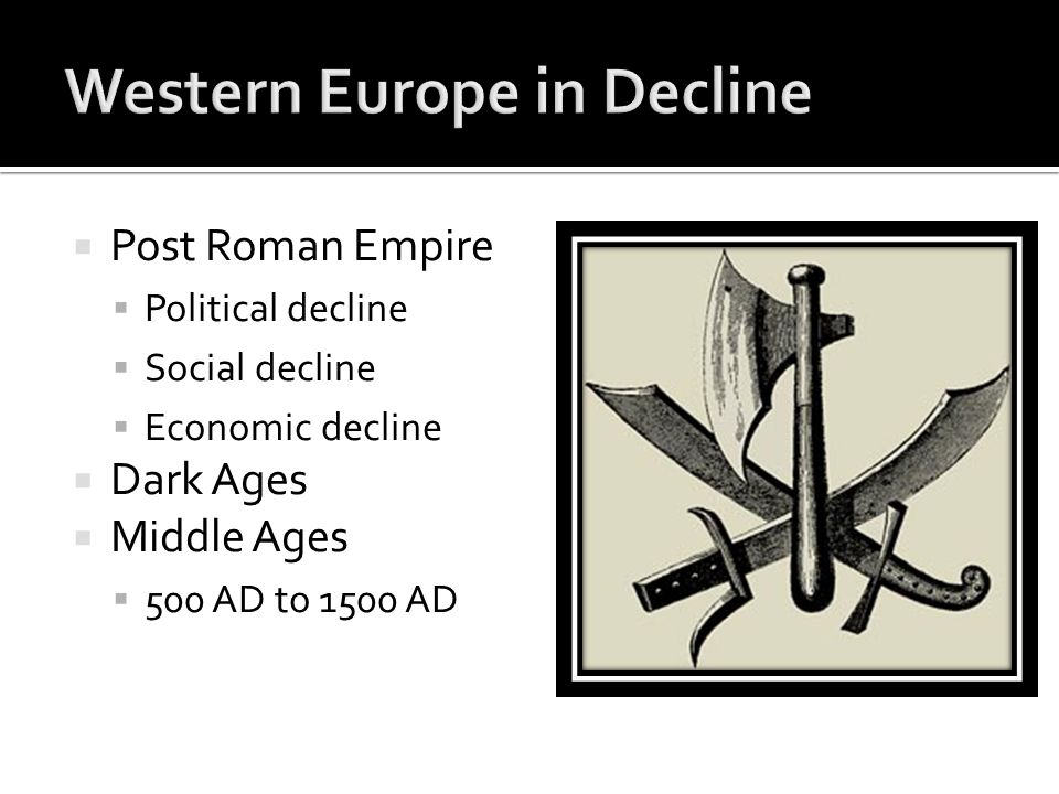 the economic decline of the roman empire