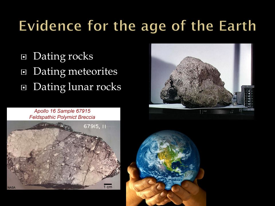 radiometric dating of lunar rocks