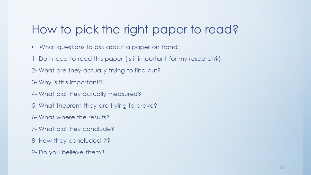 I need a research topic for my paper?