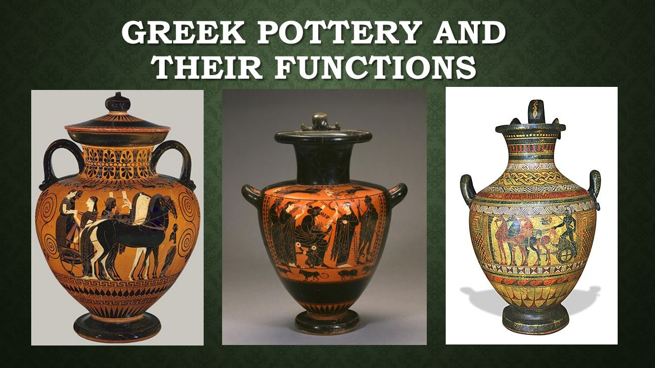 Greek pottery and their functions draw 6 vases and list their 7 greek pottery reviewsmspy