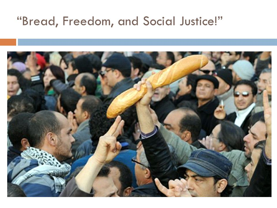 Bread, Freedom, and Social Justice!