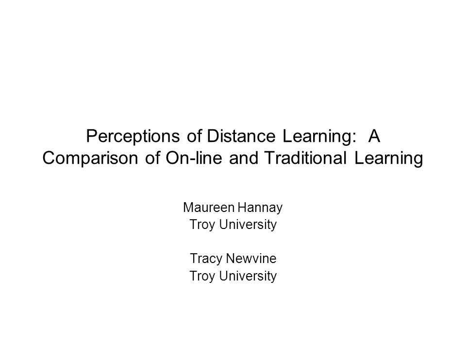 Dissertation On Distance Learning