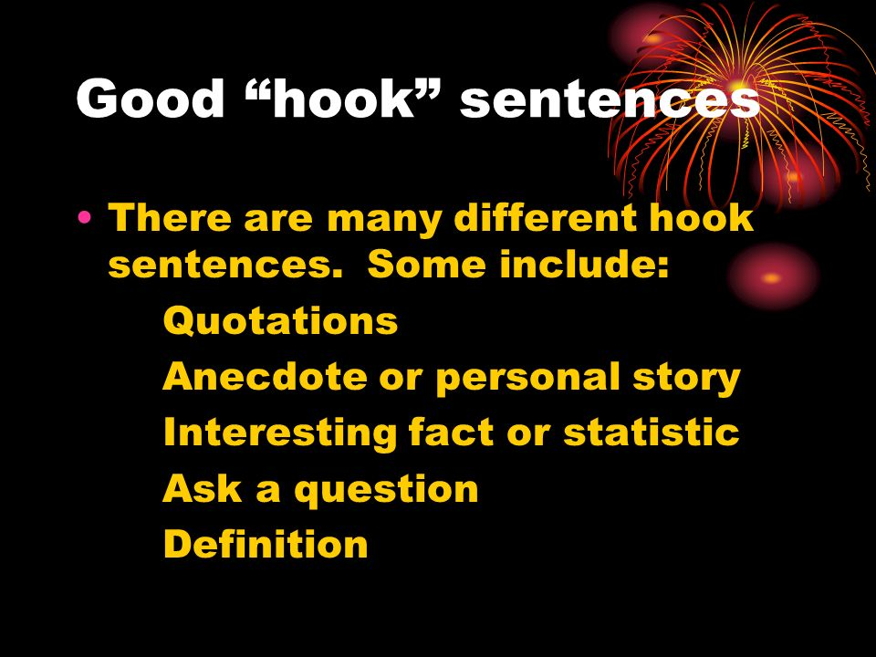 good essay hook sentences Essay generator helps you generate unique essays and articles with one click, create your own plagiarism free academic essay writings now for your school essays.
