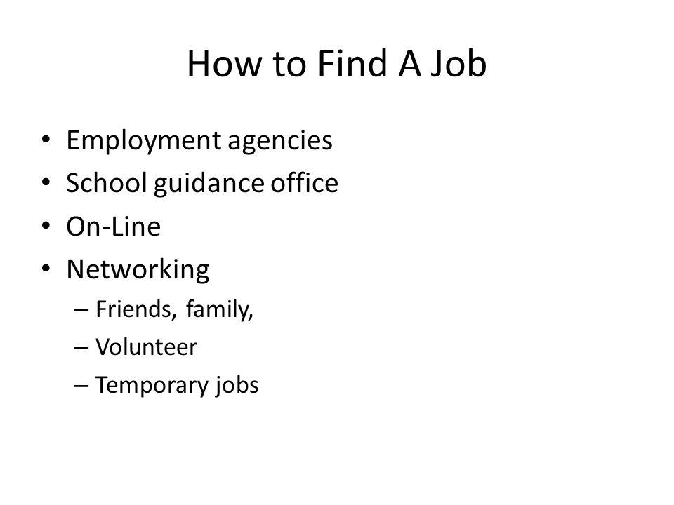 temp jobs on resumes