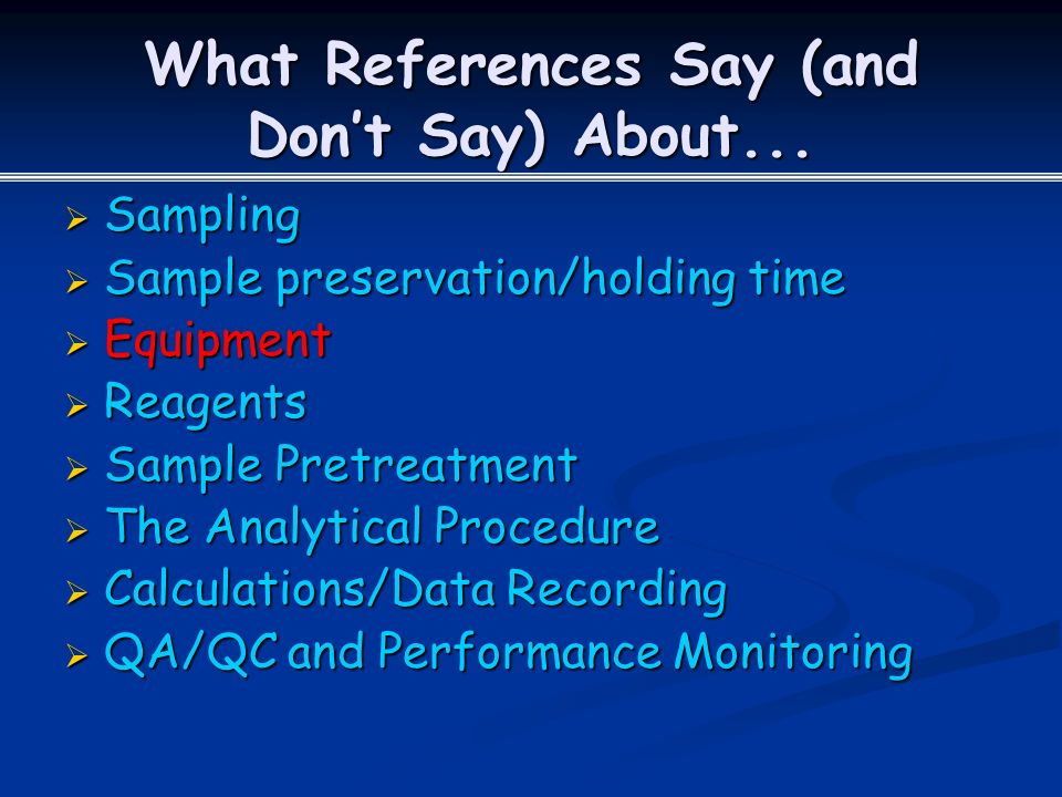 What References Say (and Don't Say) About...