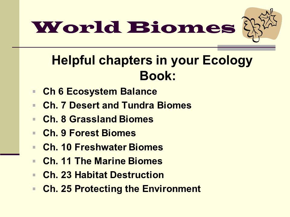 Terrestrial biomes worksheet answers