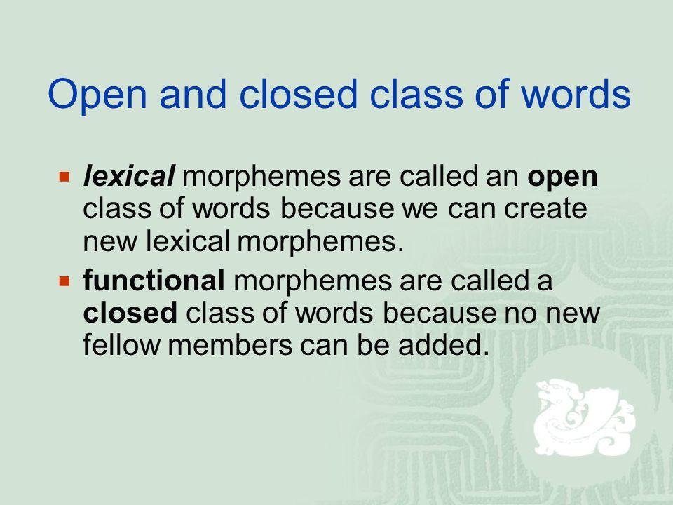 open class 10
