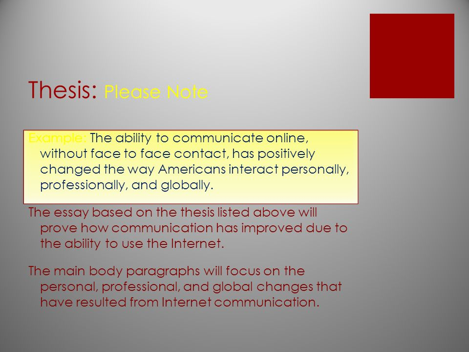 thesis about internet usage Internet community are investigated for their positive and negative traits, but also for the information the new internet culture can provide for us internet trolls can give us information.