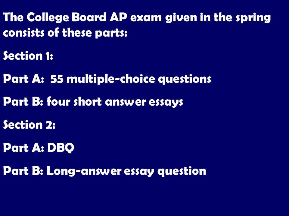 short college essay questions