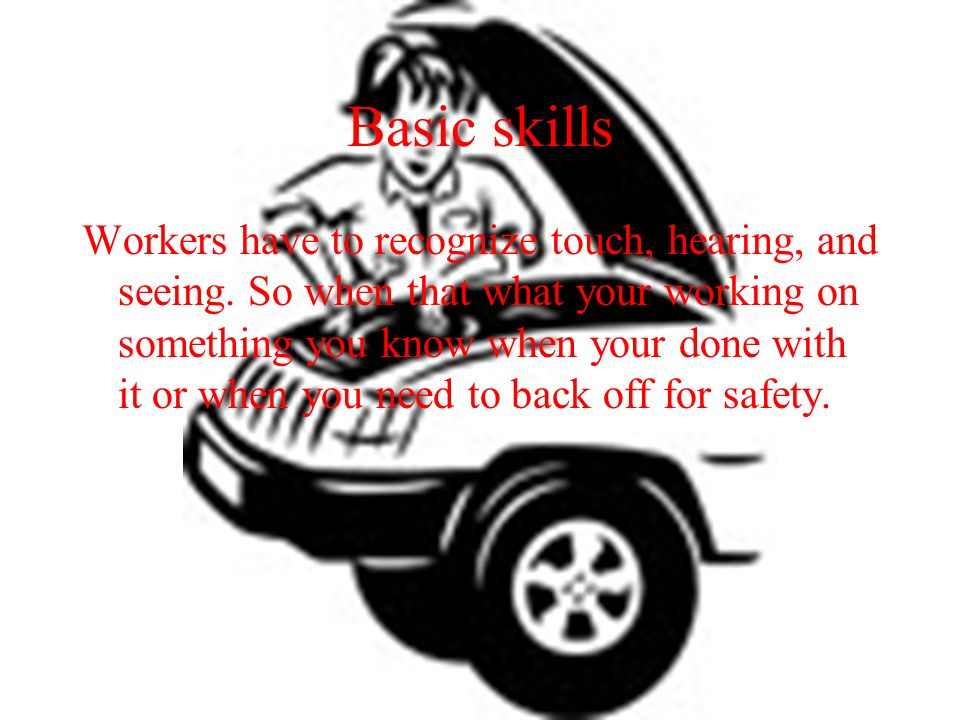 Dream career My plan is to learn about engine parts on cars and ...