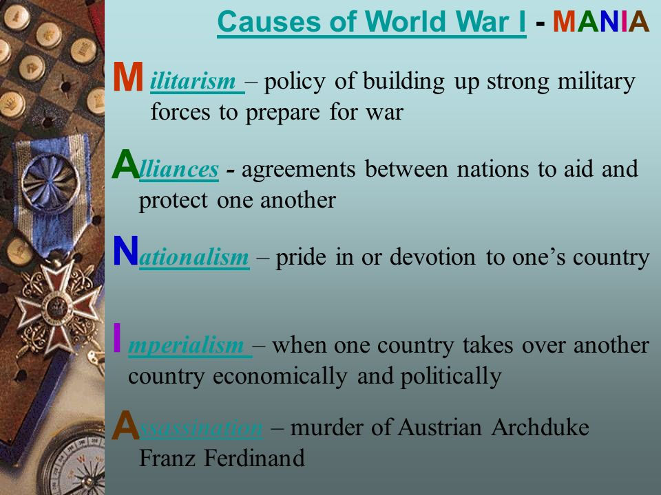 causes and effects of world war i causes of world war icauses of  2 causes