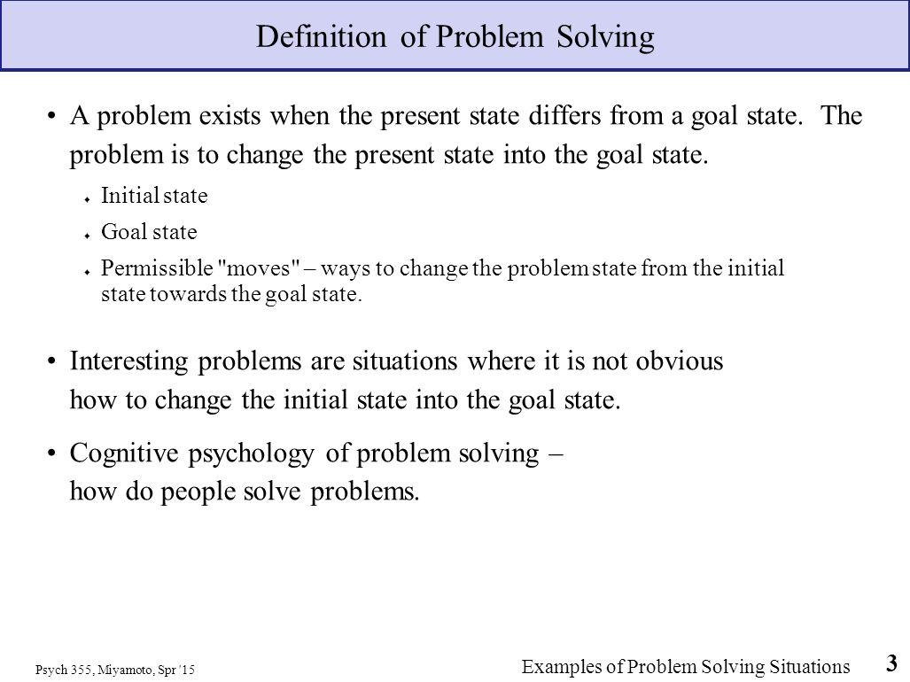 Psychology problem