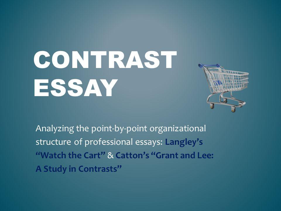 Contrast Essay