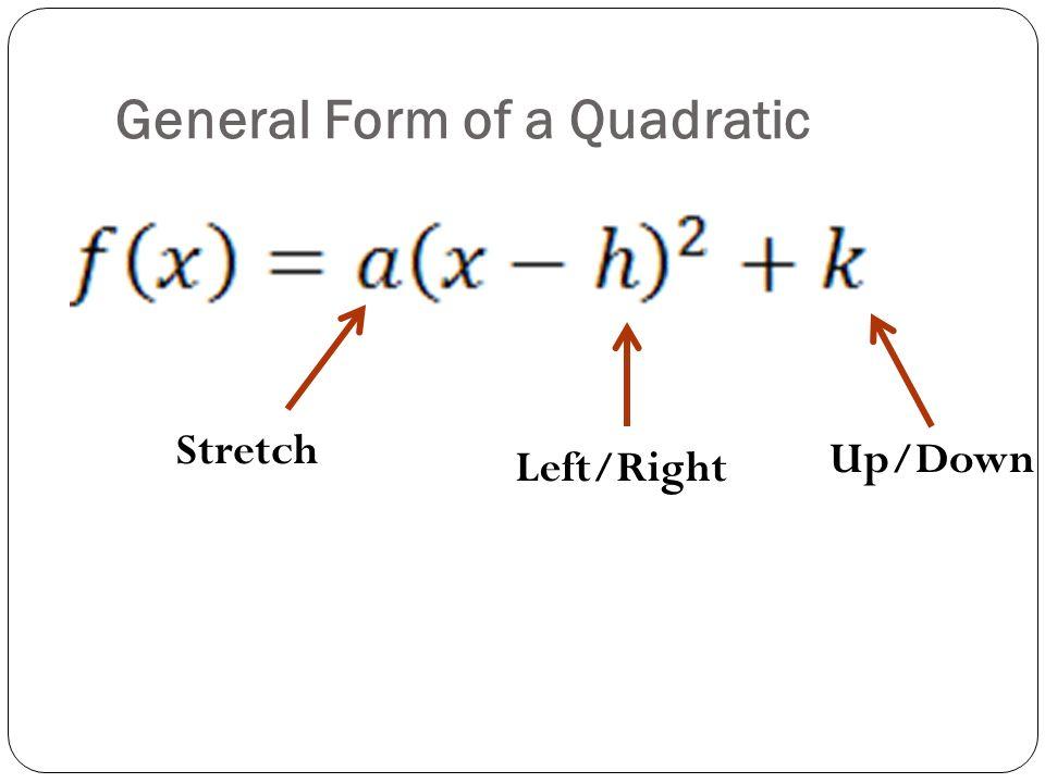 Parabola Equation Into Standard Form - Jennarocca