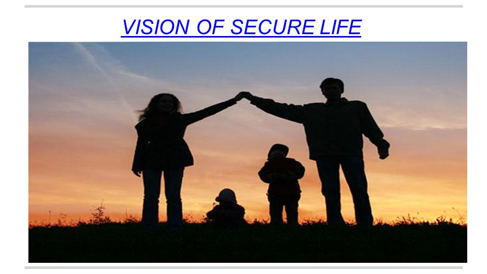 VISION OF SECURE LIFE