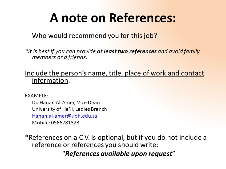 5 a - How To Write A Resume In English