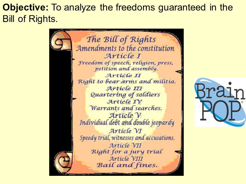 understanding article viii from the english bill of rights act The ratified articles (articles 3-12) constitute the first 10 amendments of the constitution, or the us bill of rights in 1992, 203 years after it was proposed, article 2 was ratified as the 27th amendment to the constitution.