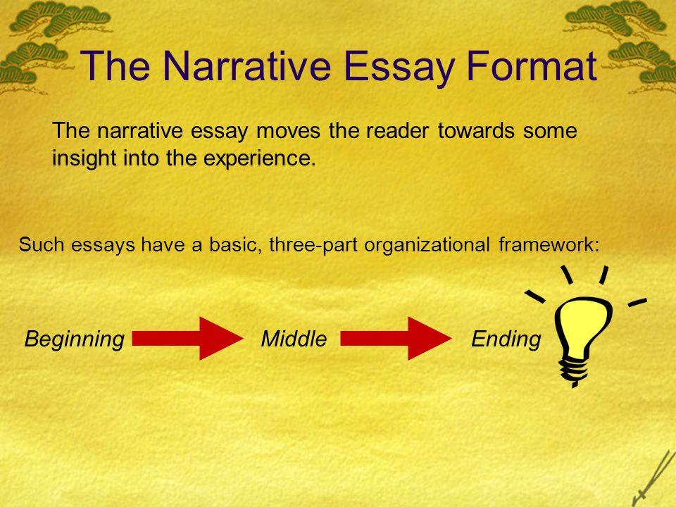 narrative essay guidelines
