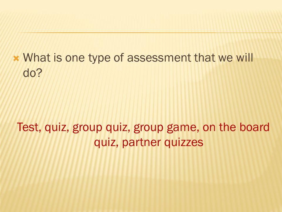 partner quiz game