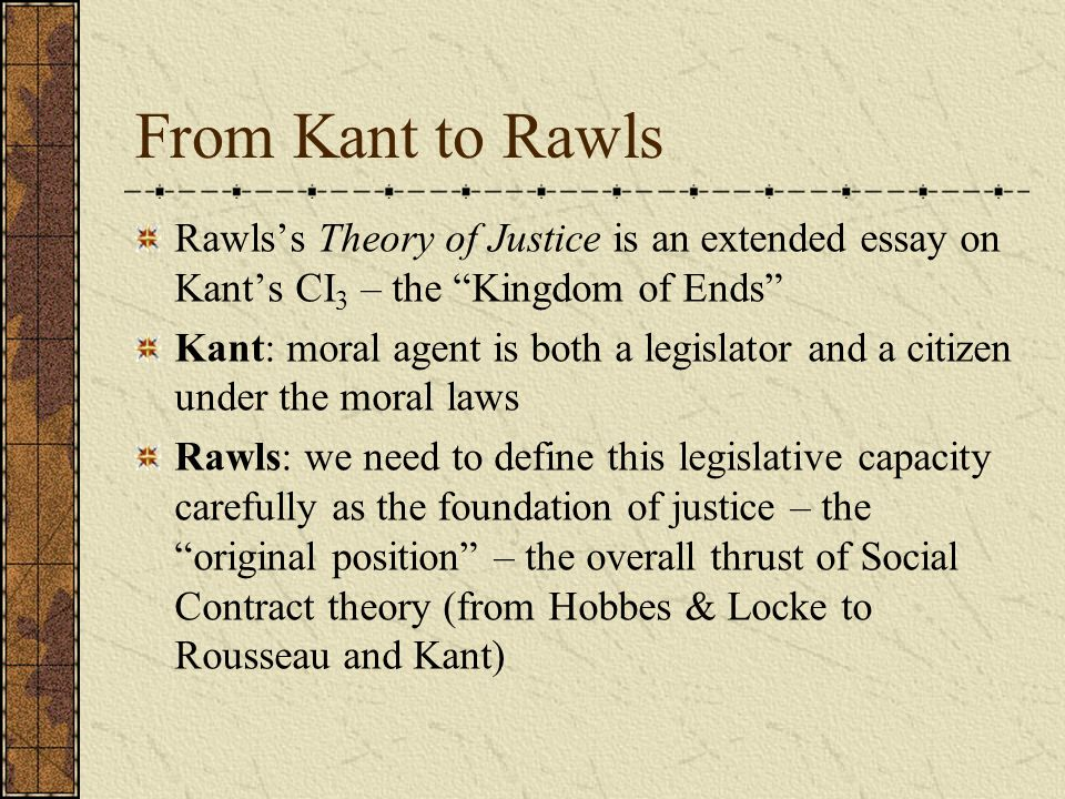 kants concept of the moral law So he concludes that duty is the necessity to act out of reverence for the law according to kant, then, the ultimate principle of morality must be a moral law conceived so abstractly that it is capable of guiding us to the right action in application to every possible set of circumstances.