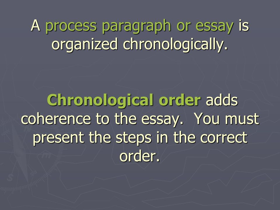 when writing a process essay it is important to Writing process view all research revision process: reading to correct grammatical and spelling errors is an important part of the revision process.
