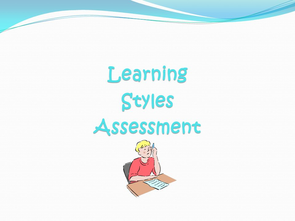 LearningStylesAssessment