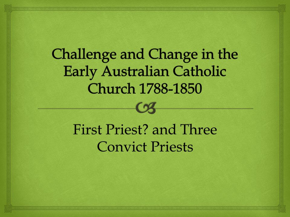 What happened when the Irish moved to Australia as catholic convicts ?