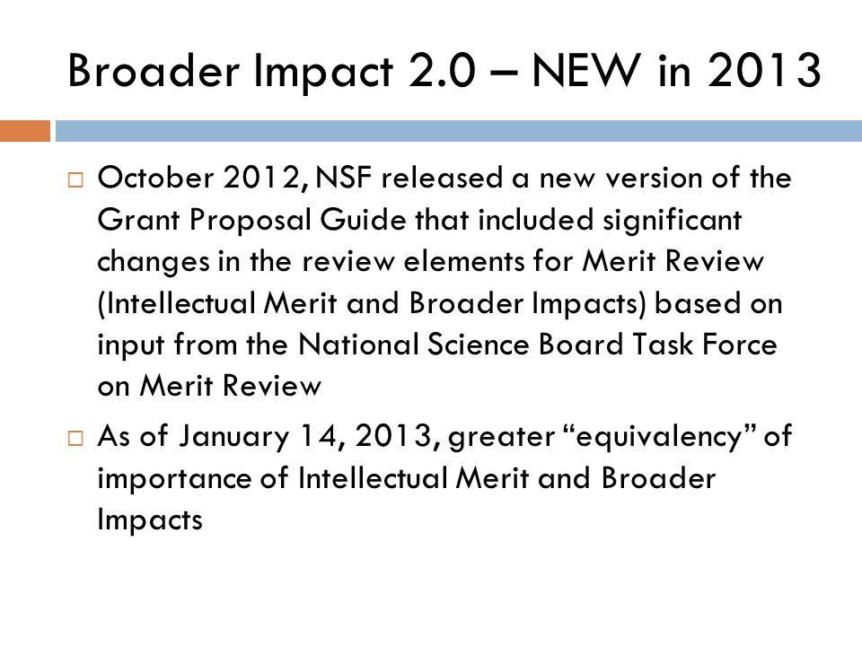 Nsf research proposal