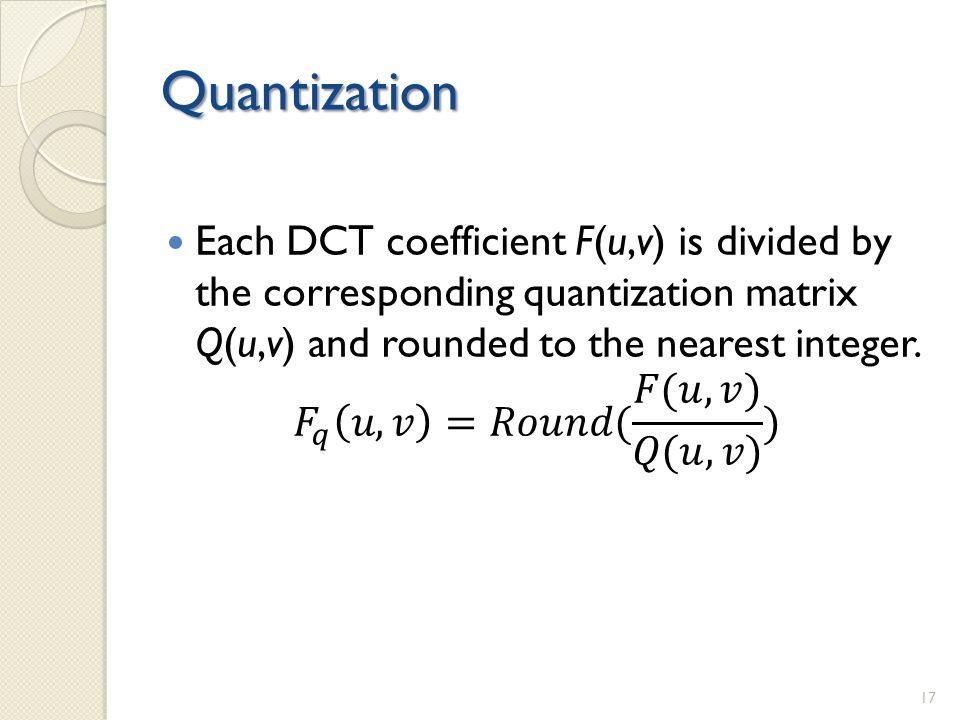 Quantization 17