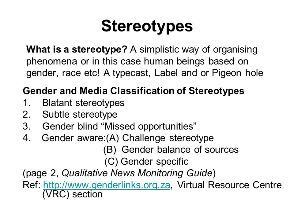 gender stereotype and the media Gender stereotypes news find breaking news, commentary, and archival information about gender stereotypes from the latimes.