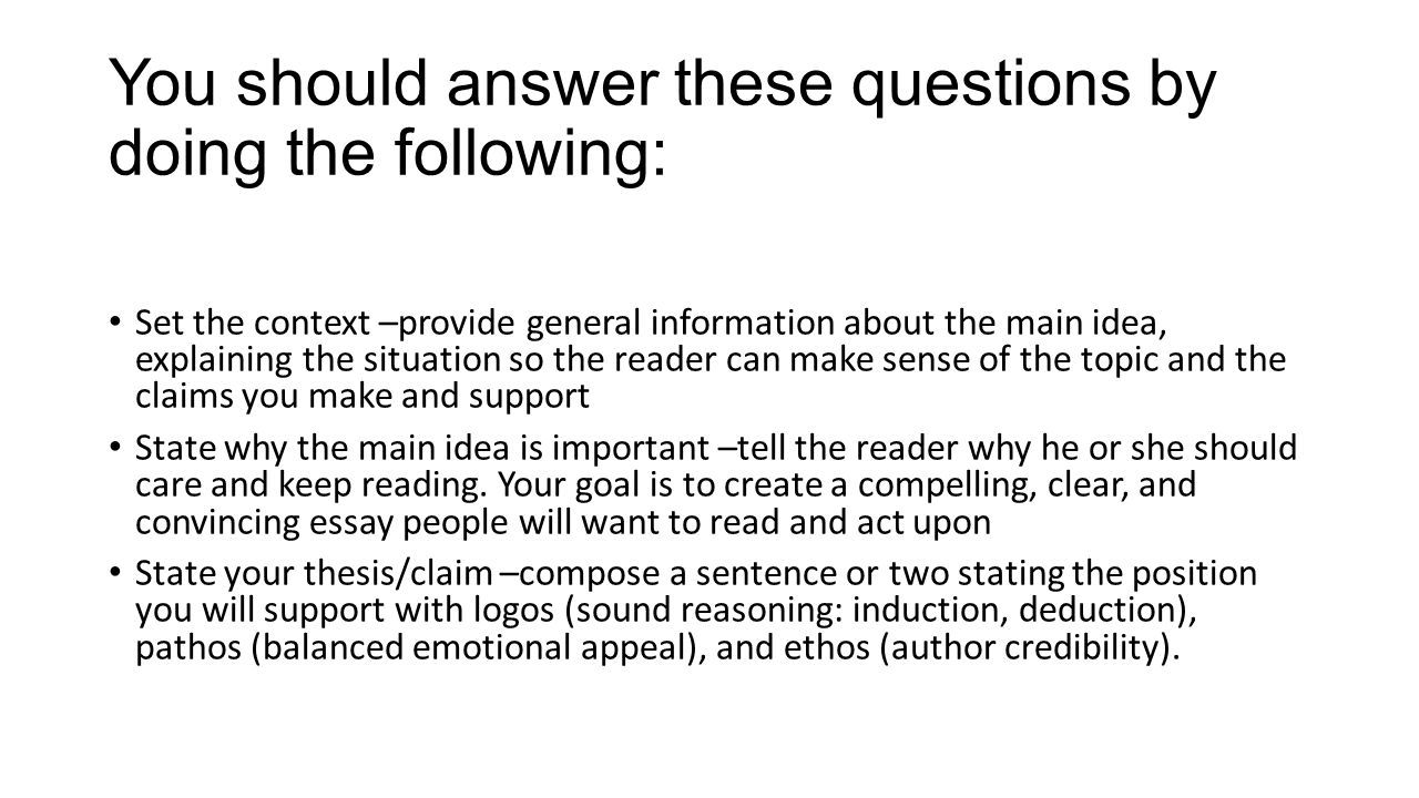 start convincing essay Before you even start writing, you have a lot of work to do on a persuasive essay you can't write one without some excellent points to make and it's essential to include evidence to support those points.