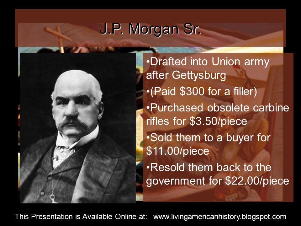 J.P. Morgan Sr.