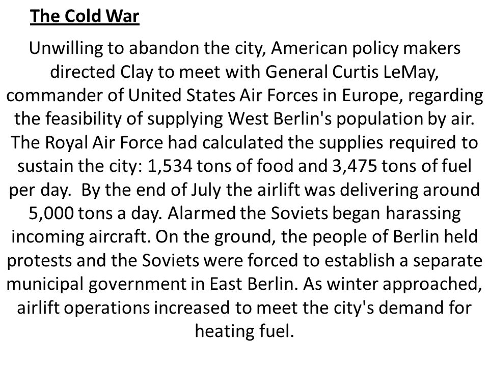 essays of the cold war Public history of the cold war cold war is termed as a situation of a sustained state of political and military tension between supreme powers.