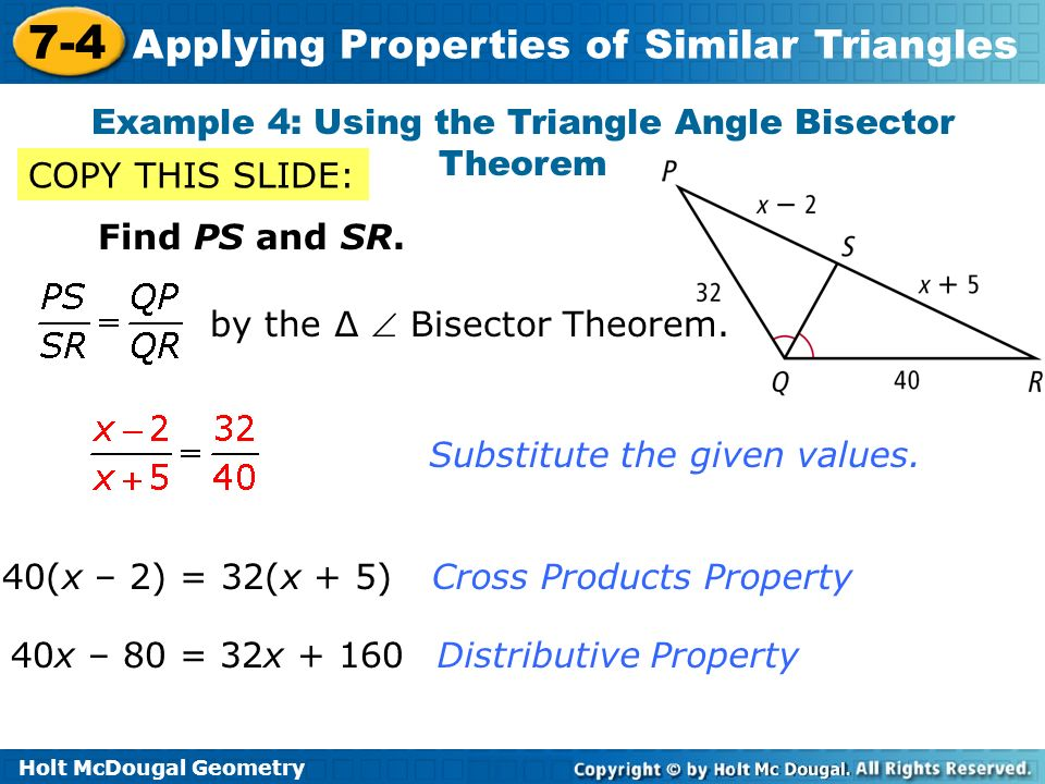 triangle and holt geometry copyright 81 holt geometry all rights reserved copyright © by holt practice a isosceles and equilateral 62 holt geometry theorem examples isosceles triangle theorem.