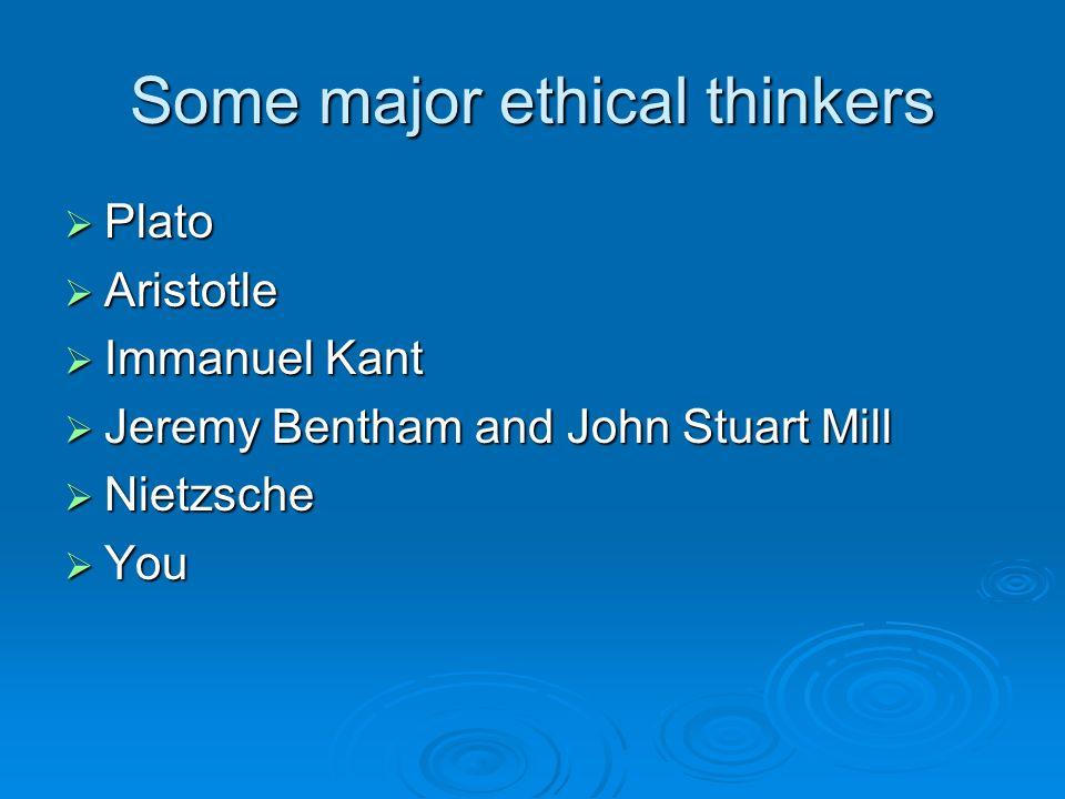 Aristotle and John Stuart Mill?