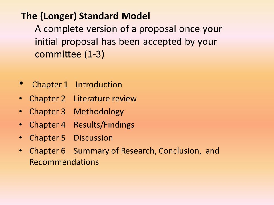 chapter 1 dissertation proposal