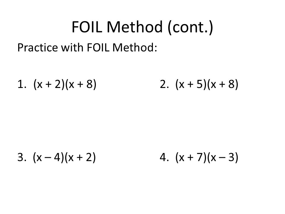 Multiplying Binomials Using The Foil Method Worksheets Deployday – Foil Method Worksheets