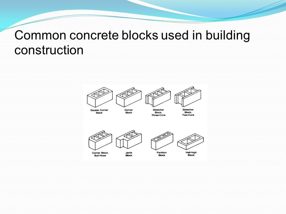 8 common concrete
