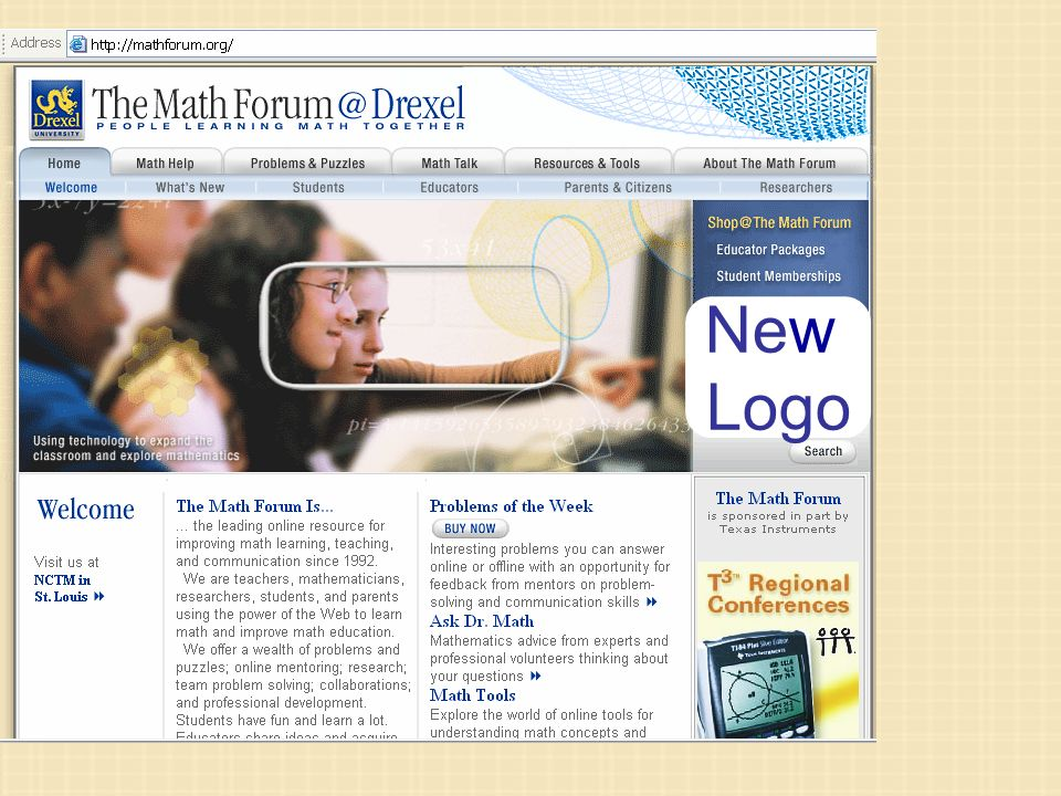 New Look Programs New New Logo Same Great Approach to Doing Math ...
