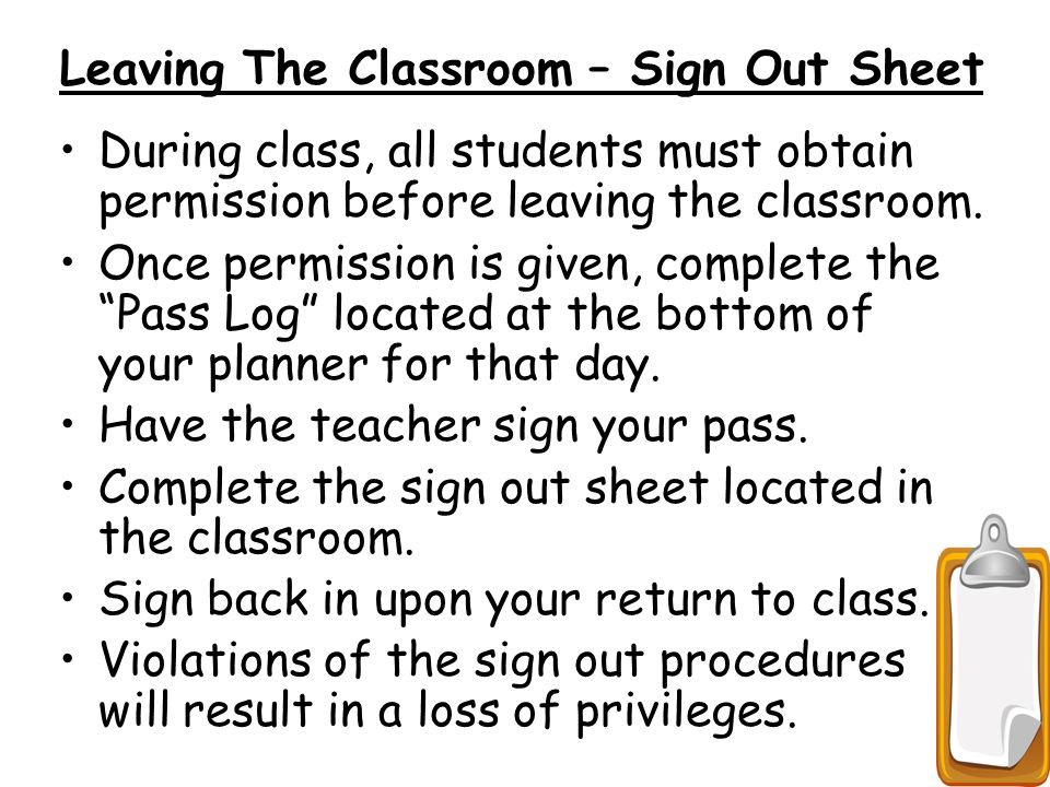 Mrs. Olde'S Class Procedures/Survival Guide Back To School