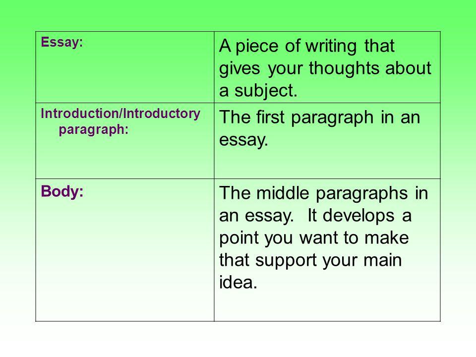 academic essay examples