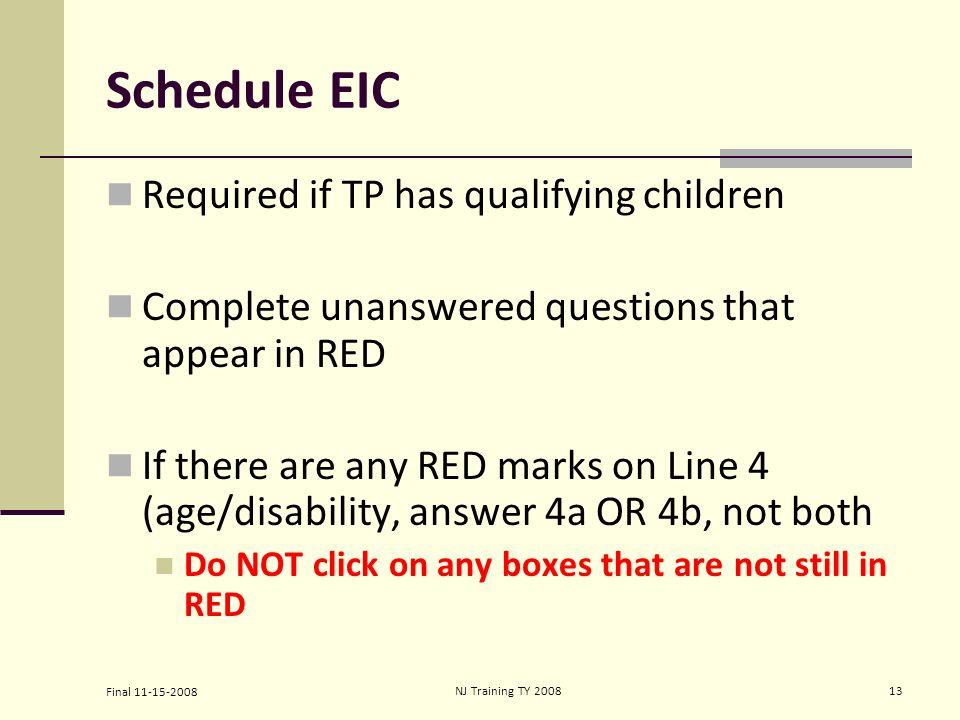Eic worksheet a 2012