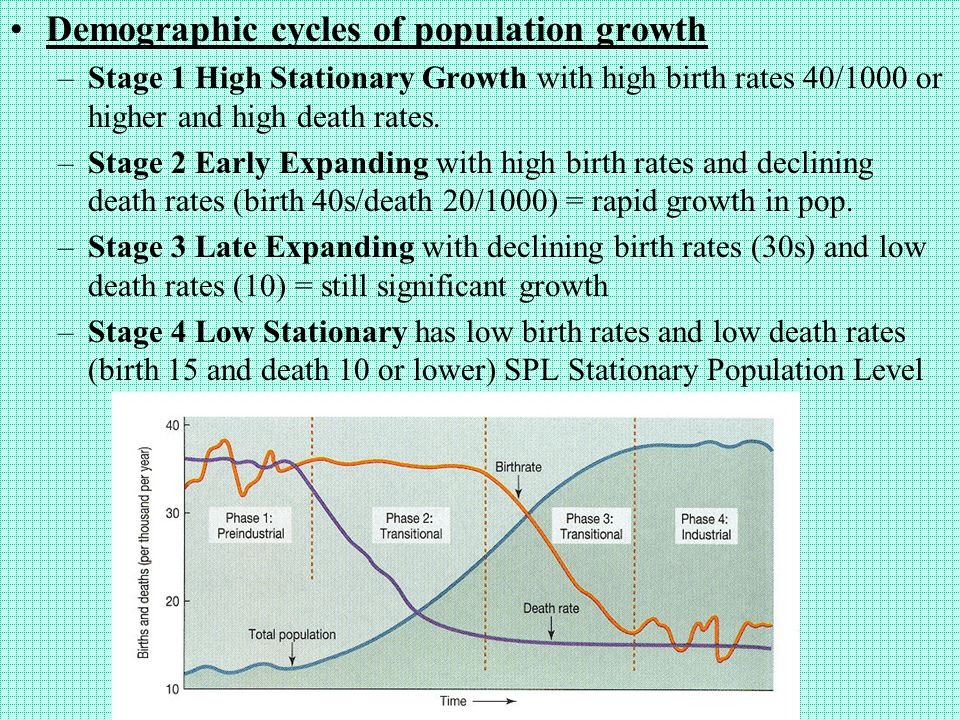 population problems the declining birth rate essay The population growth rate has been decreasing in is that a declining population will lead to underpopulation and problems in forecasting population growth.