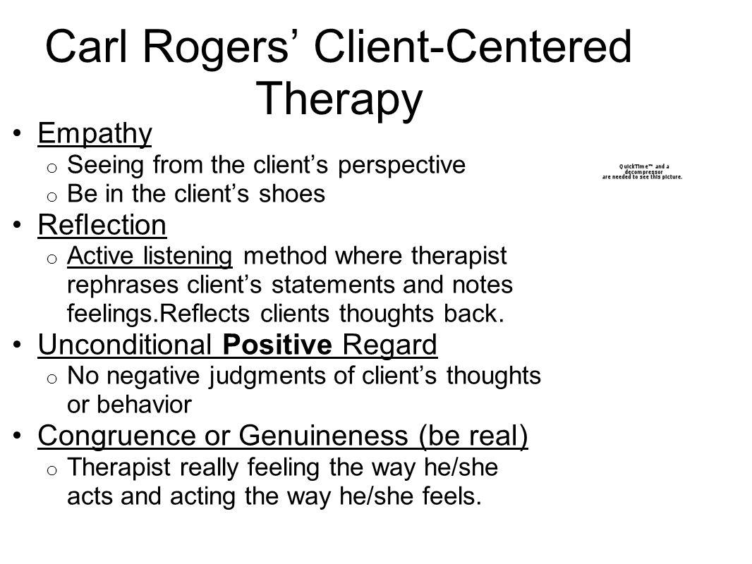 carl rogers case study