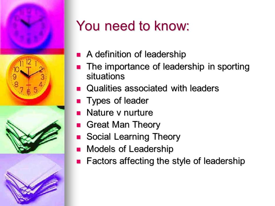 definition of leadership and its importance The authors then proposed an integrative definition of leadership encompassing the 90 plus the leader recognizes the impact and importance of audiences outside of the.