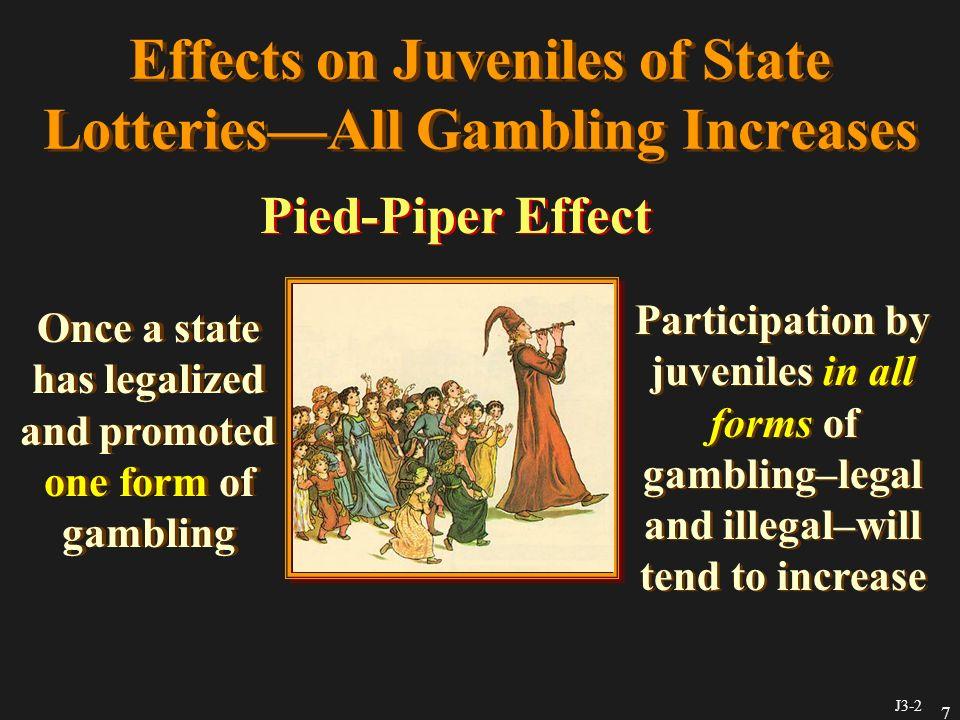 Effects gambling legalized patrick gambling