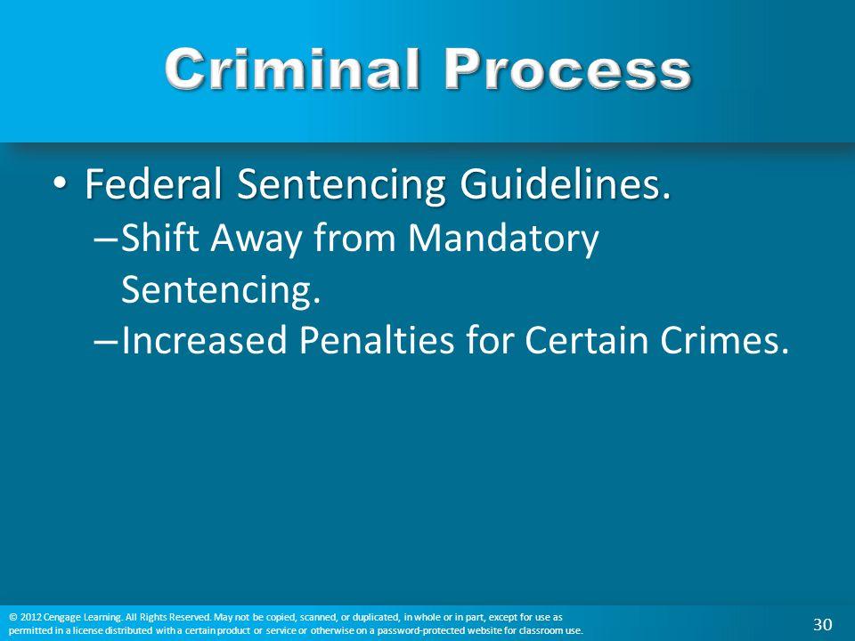 Federal Sentencing Guidelines. Federal Sentencing Guidelines.