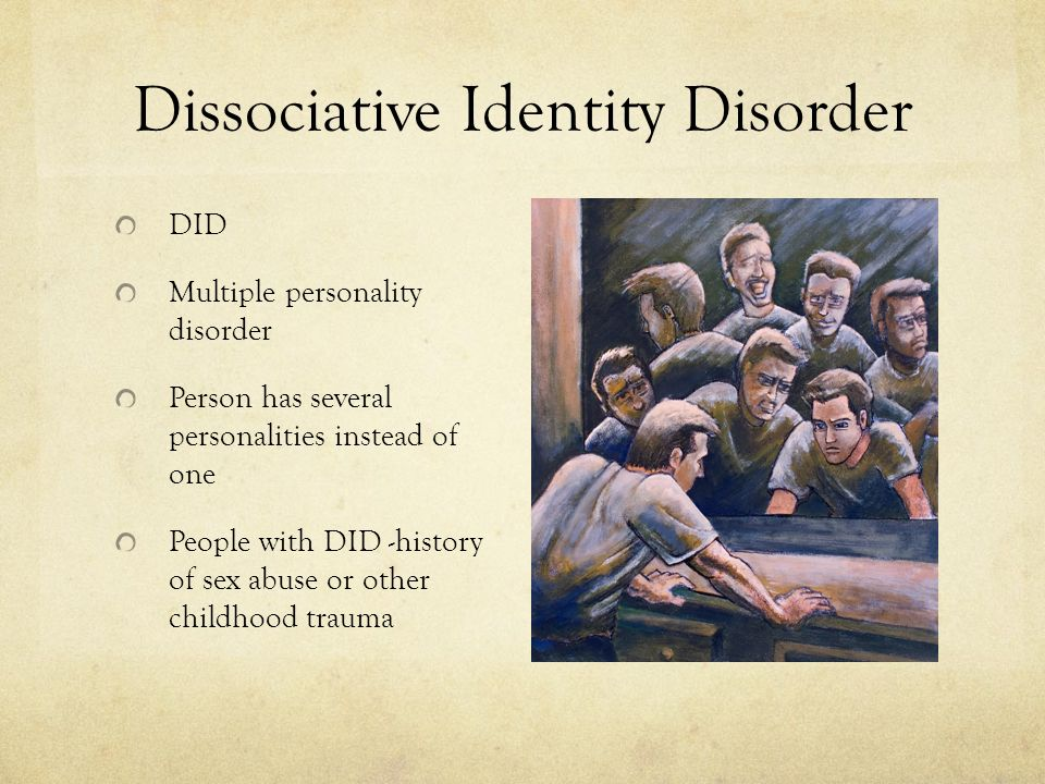 multiple personality disorder dissociative identity disorder essay