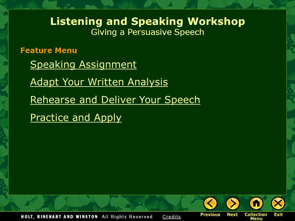"""an analysis of speaking and listening Education and with the analysis of the pertaining application of nca""""s standards on speaking, listening  listening training, listening education."""